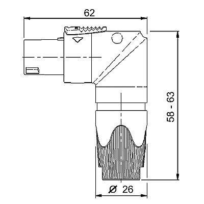 Schedaprodotto besides Building envelopes additionally Wiring Diagram For 7 Pole Rv Plug furthermore Legrand 80   Single Phase Prong Busbar 13 Module 32240 also 2 Way Threaded With Electric Motor. on single pole connector
