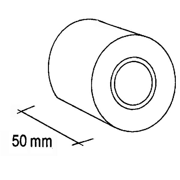 Nastro adesivo liscio idrorepellente nero per TAPPETI